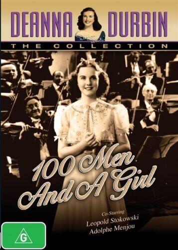 1 of 1 - Deanna Durbin - 100 Men And A Girl (DVD, 2014)  as new