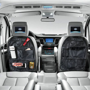 2pack Auto Car Seat Back Multi-Pocket Storage Bag Organizer Holder Accessory GW
