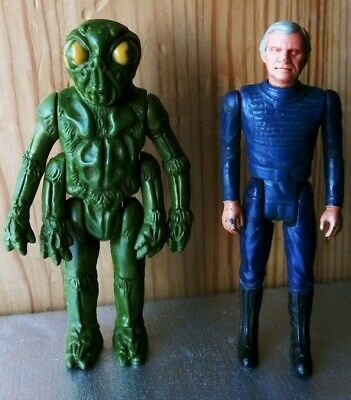 Battlestar Galactica Buy Cheap Battlestar Galactica 1978 Univ Studios Commander Adama/ovion Action Figures Lot