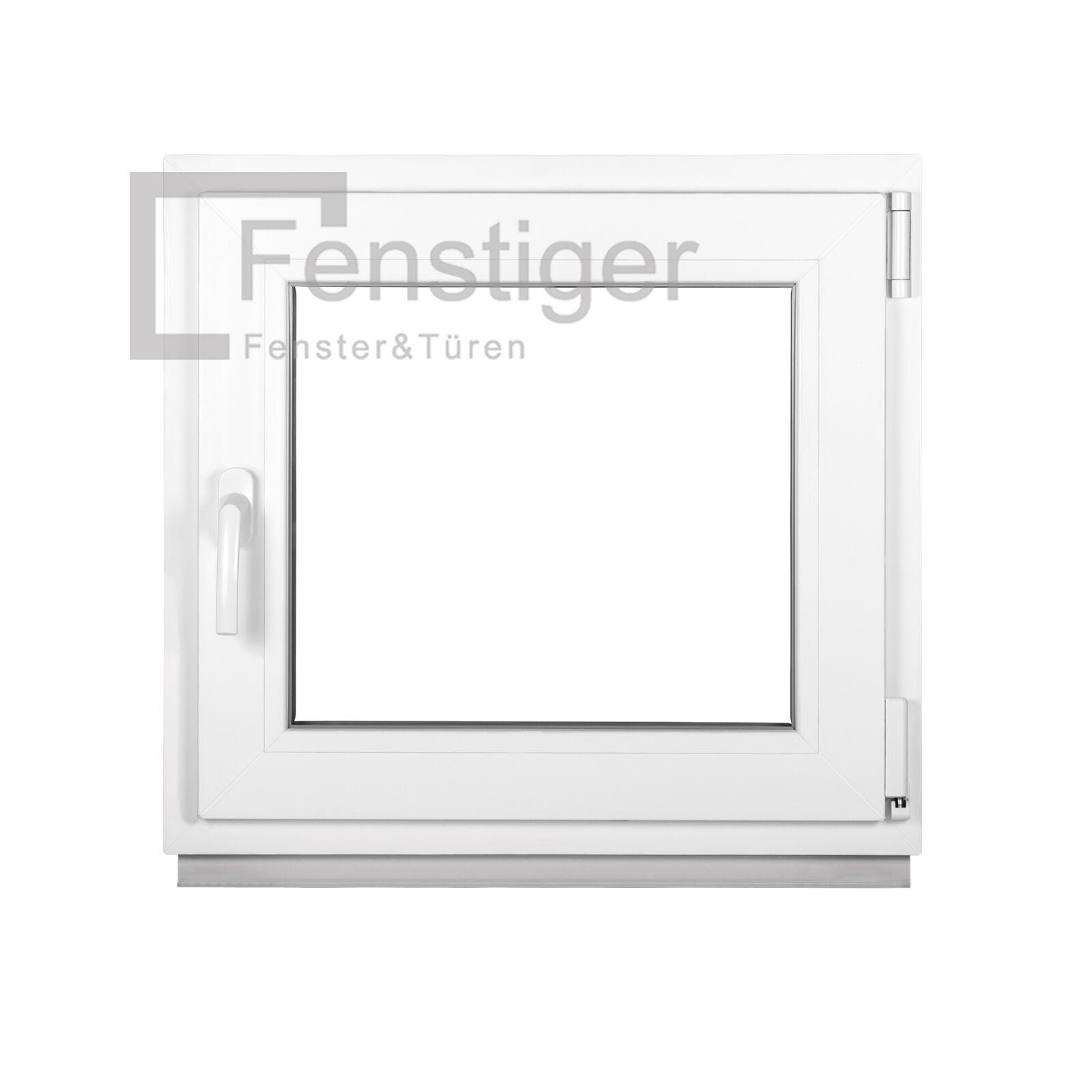Kunststofffenster Kellerfenster Fenster 2-fach Verglasung Dreh Kipp ISOGLAS