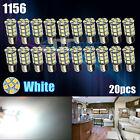 20X White 27 SMD LED 1156 1141 1003 RV Camper Trailer Interior Light Bulbs