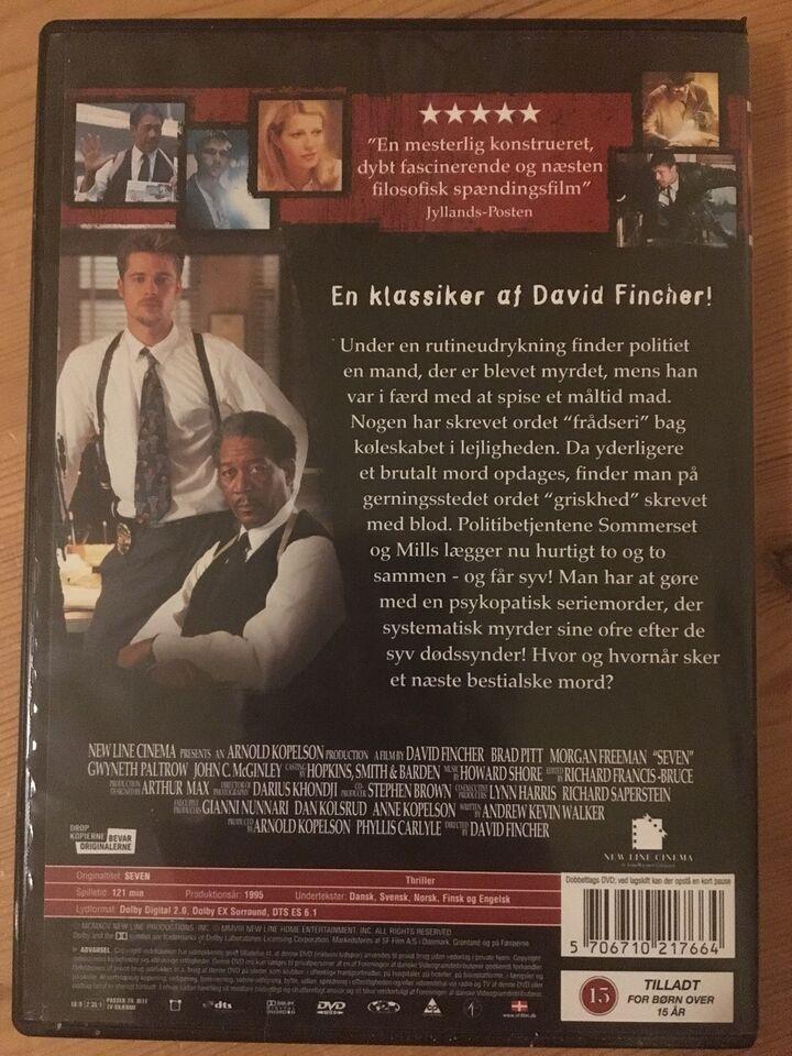 Seven, DVD, thriller