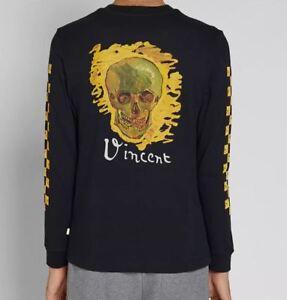 dcc15928c A imagem está carregando Vans-Vault-Camiseta -Manga-Longa-Caveira-039-Vincent-