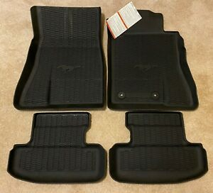 Genuine 2020 Ford Mustang All Weather Floor Mats w ...