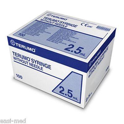 2.5ml Terumo Sterile Syringe 100 box - Good use-by dates