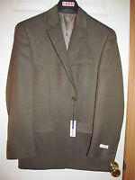 Men's Izod Sport Jacket Blazer Suit Coat Size 38 Regular Brown Msrp $150.00