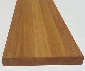 Tavola In Legno Lamellare Iroko 40 X 330 X 330 Mm Gradino Mensola Ripiano Ebay