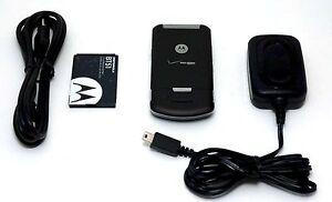 Motorola-Verizon-W755-Flip-Cell-Phone-BLACK-bluetooth-vCast-music-1-3-MP-Camera