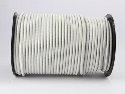 0,65 Euro//m 30m Expanderseil 6mm weiß Gummiseil Planenseil Spannseil