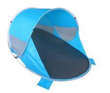 Strandmuschel Pop Up Strandzelt Wetter- und Sichtschutz Polyester Zelt
