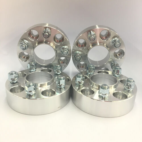 "4pc Hub Centric 5X5 5X127 Wheel Spacers1//2/"" Studs1.5/"" Inch 38mm Wrangler"