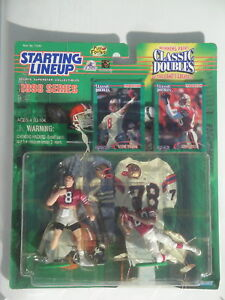 """Starting Lineup /""""CLASSIC DOUBLES/"""" Card 1997  JERRY RICE San Francisco 49ers"""