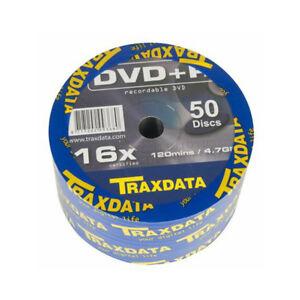 DVD-R-16X-Traxdata-906WEDRTRA003-Bobina-50-uds