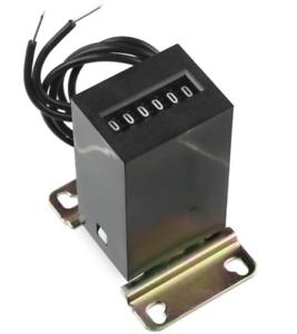 KEP KE610 24V DC Non Resettable Analog Mechanical Impulse Counter Kessler Ellis