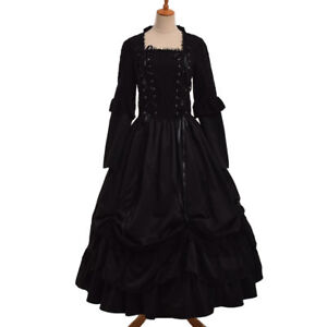 vintage victorian puff sleeve ball gown gothic corset