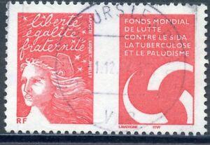 Stamp / Timbre France Oblitere N° 3689 Lutte Contre Le Dida êTre Nouveau Dans La Conception