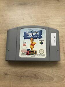 Tiggers Honey Hunt Nintendo 64 N64 PAL solo carro Probado