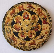 Astronomische Uhr Sonne Mond Venus Mars Merkur Sternzeichen Widder Waage Stier 8