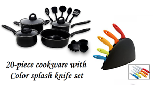 Keimav-20-piece-Cookware-with-Nylon-Utensil-w-Color-Splash-Knife