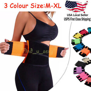 7d404c910edee Women Xtreme Power Belt Hot Slim Heated Thermo Shaper Waist Trainer ...