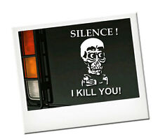 Achmed the Dead Terrorist  Autoaufkleber Aufkleber WEISS Neu 15cm