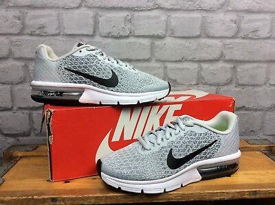 Nike Air Max Uk 5.5 Eu 38.5 Sequent 2 Grey Trainers Children Girls Boys Ladies C Eine GroßE Auswahl An Farben Und Designs
