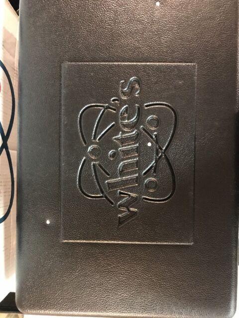 Whites metal detector Hard Shockproof Case