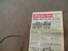 Motoring News 18 January 1973 Toyota Rally Team Harold Morley MN RS1600 Test