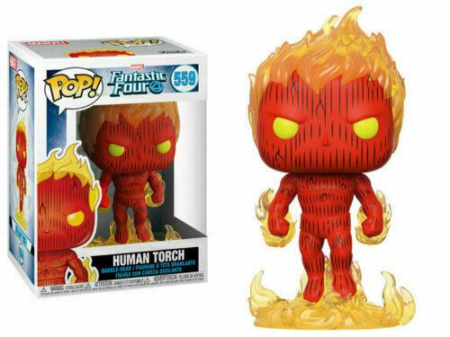 Funko POP Marvel Vinyl Figure Fantastic Four Human Torch #559