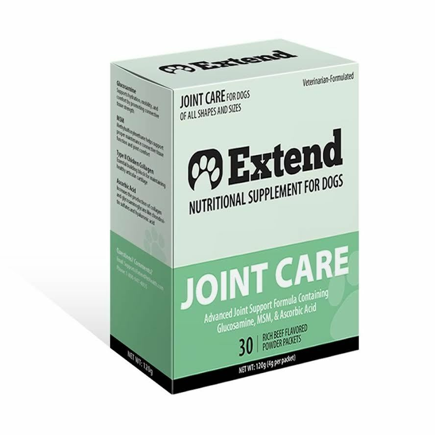 Extend Joint Care For Dogs, 1 Month - Glucosamine - Brand New Box