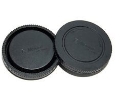 JJC L-R9 Rear Lens Cap & Camera Body Cap Set for Sony E mount NEX 3 5 C3 5N