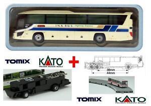 Kato By Tomix Autobus-3 Chassis Moteur Électrique-magnétique Pour Set Bus
