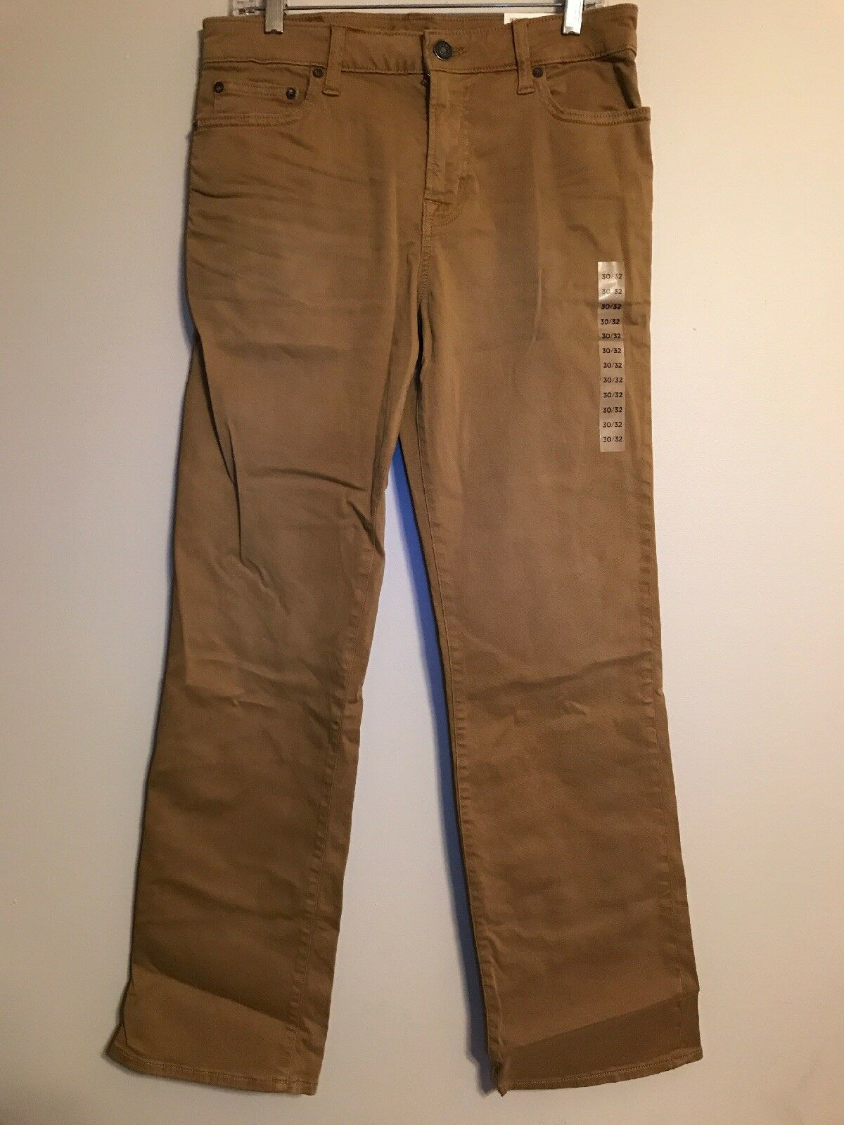 NWT AMERICAN EAGLE Flex Original Boot Pants 30x32 Beige Stretch