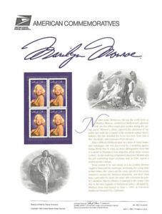 #460 32c Marilyn Monroe #2967 USPS Commemorative Stamp Panel