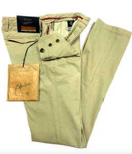 Sartoria-Tramarossa-ROBERT-jeans-pantalone-Col-BEIGE-254-NUOVO-SALDI
