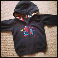 Marvel Super Heros Baby Hoodie, Punk, Rock, Geek, Comic Alternative All Sizes