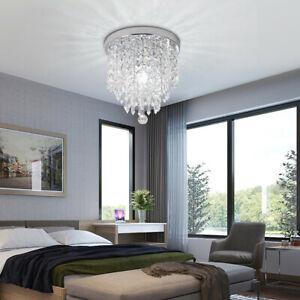 Modern-Chandelier-Crystal-Ball-Fixture-Pendant-Ceiling-Lamp-Hallway-Light