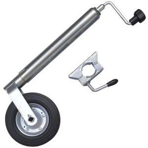 48-mm-Rueda-jockey-de-con-abrazadera-herramienta-accesorio-remolque-Nuevo-ES