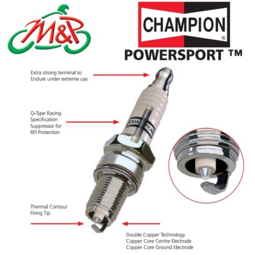 Yamaha YZF-R6 2000 Champion Powersport Spark Plugs