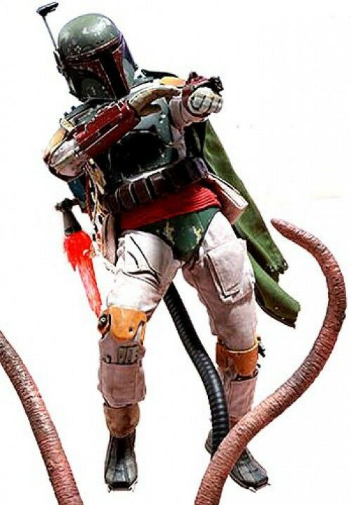 Star Wars Return of the Jedi Boba Fett Collectible Figure