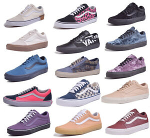 deb615941f Vans Old Skool Mens Womens Low Top Skateboard Shoes Choose Color ...