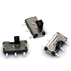6-Pin-2-Position-Mini-Vertical-Recessed-Slide-Toggle-Switch-2mm-Shaft-ON-OFF-DIY