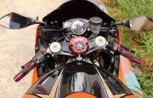 "MOTORCYCLE 7//8/"" HAND GRIPS HANDLE BAR GEL FOR YAMAHA R1 R6 HONDA CBR600RR 1000RR"