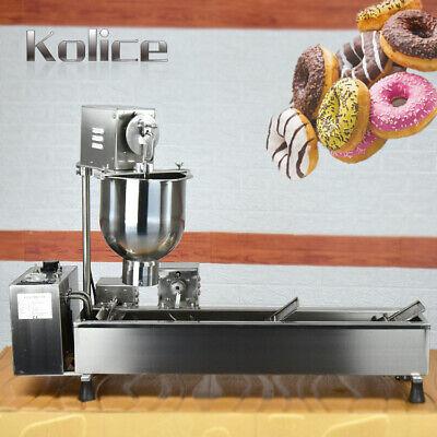 Kolice 4 rows mini Automatic Donut Machine,Doughnut Maker,Donuts Frying Machine