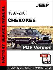JEEP CHEROKEE 1997 1998 1999 2000 2001 SERVICE REPAIR WORKSHOP MANUAL
