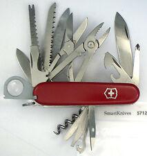 Victorinox SwissChamp Swiss Army knife- used, very good w gray magnifier #5712
