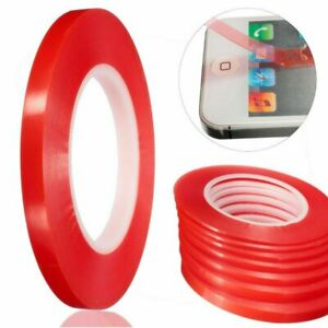 25M-RED-Adhesive-Double-Side-Tape-Strong-Sticky-For-Cell-Phone-LCD-Screen-Repair