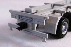 Toys & Hobbies ROAD TRAIN Tow hitch set trailer hooks ring feeder 5th wheel HO 1/87 scale HERPA Cars, Trucks & Vans