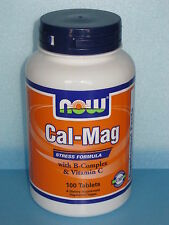 Cal-Mag Stress Formula 100 Tablets with B-Complex & Vitamin C für Nerven Knochen