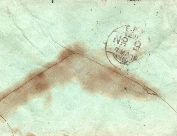 Adroit L'irak Ww1 Couverture Inde * Fpo 9 * Somerset Light Infantry 1918 Soldat Lettre Mal12